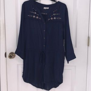 NWT Roxy long sleeve romper Sz L